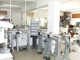 Geotechnical laboratory